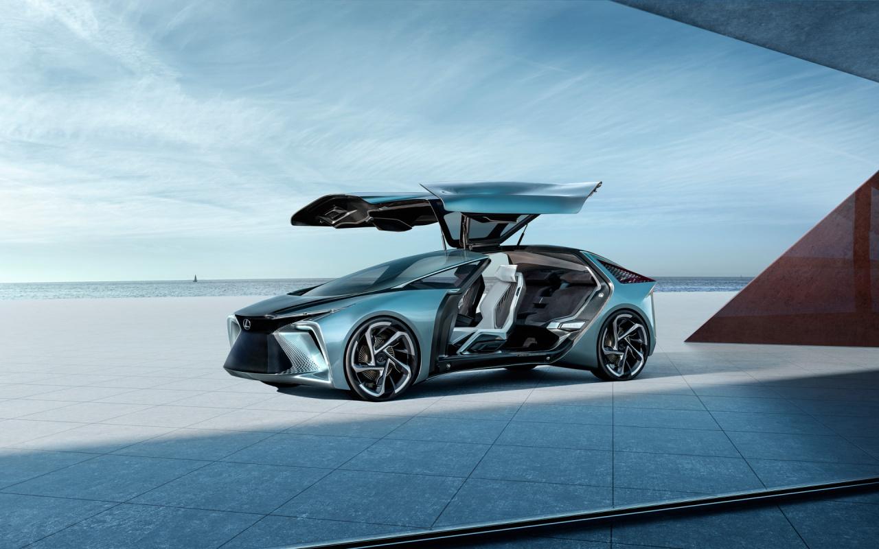 「鉱石のような塊感! レクサスの電動化ビジョンを象徴するコンセプトモデル「LF-30 Electrified」を公開【東京モーターショー2019】」の15枚目の画像