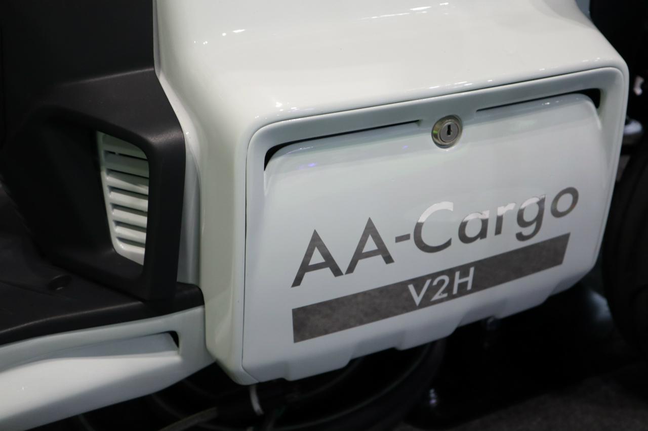 「バイクから家に電気を供給できる! 日本発の新ブランド「アイディア」の電動スクーターが誕生【東京モーターショー2019】」の7枚目の画像