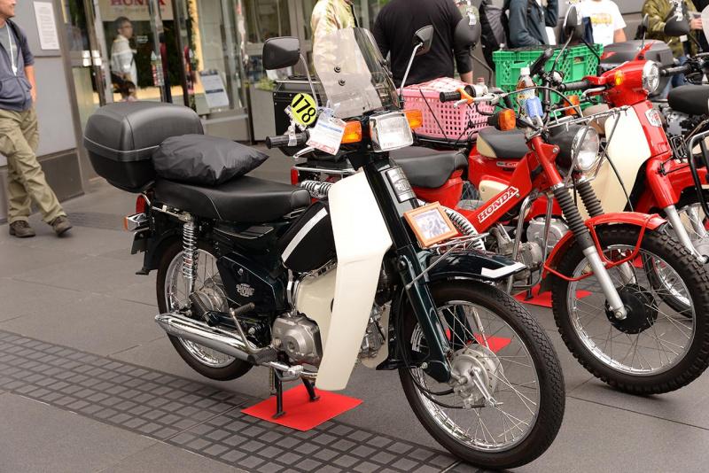 第23回カフェカブミーティングin青山:カスタム車両7