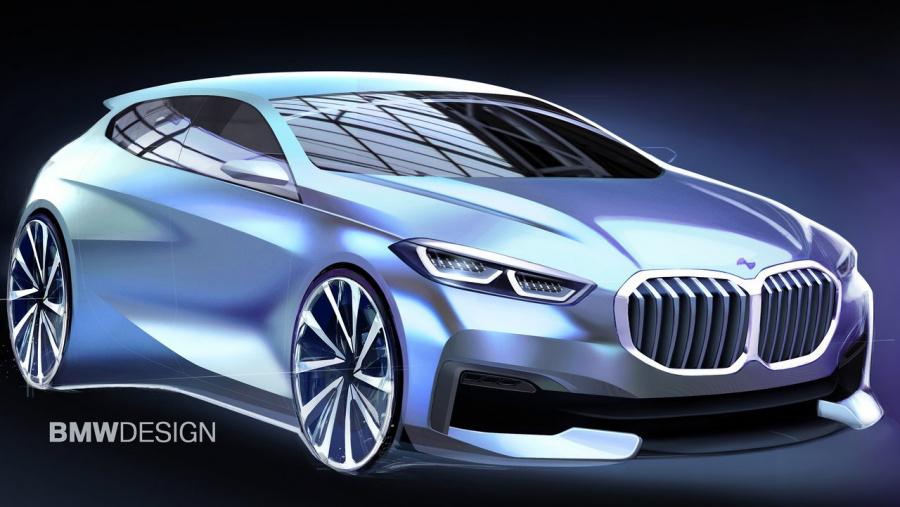 BMW 1シリーズ イラスト_002