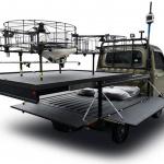 軽トラがヘリポートに! ダイハツが自動で離発着可能な「ドローン発射台」を開発 - DAIHATSU