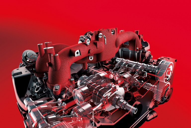 SUBARU EJ20 ターボエンジン