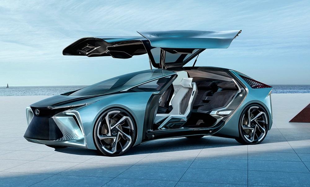 「レクサスが将来のEVを示唆するコンセプトカーを公開。自動運転で航続距離は500kmに【東京モーターショー2019】」の8枚目の画像