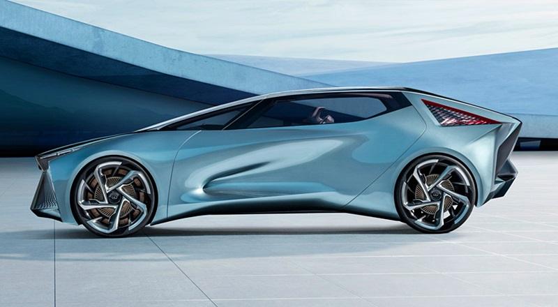 「レクサスが将来のEVを示唆するコンセプトカーを公開。自動運転で航続距離は500kmに【東京モーターショー2019】」の7枚目の画像