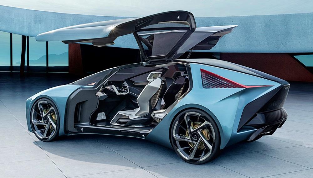 「レクサスが将来のEVを示唆するコンセプトカーを公開。自動運転で航続距離は500kmに【東京モーターショー2019】」の6枚目の画像