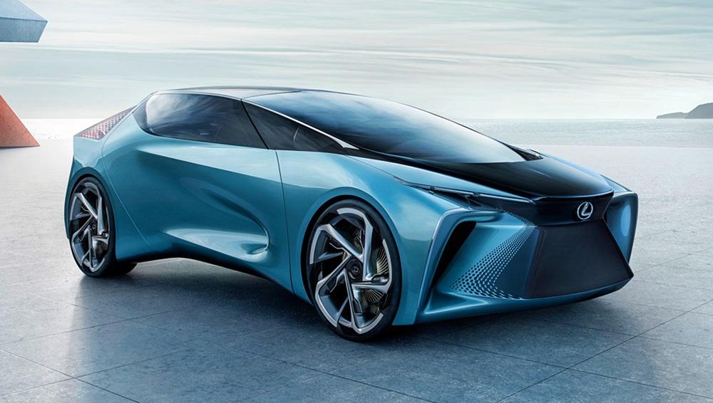 「レクサスが将来のEVを示唆するコンセプトカーを公開。自動運転で航続距離は500kmに【東京モーターショー2019】」の5枚目の画像