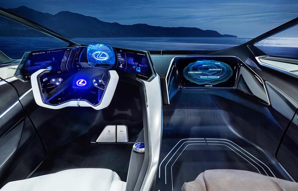 「レクサスが将来のEVを示唆するコンセプトカーを公開。自動運転で航続距離は500kmに【東京モーターショー2019】」の2枚目の画像