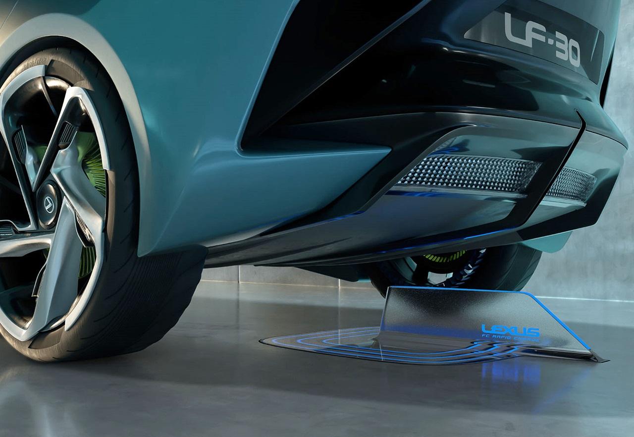 「レクサスが将来のEVを示唆するコンセプトカーを公開。自動運転で航続距離は500kmに【東京モーターショー2019】」の1枚目の画像