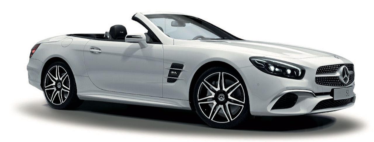「快適装備とABCサスペンションが備わった特別仕様車、メルセデス・ベンツ「SL 400 Grand Edition」が登場【新車】」の1枚目の画像