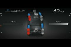 日産リーフ 4WDテストカー メーター