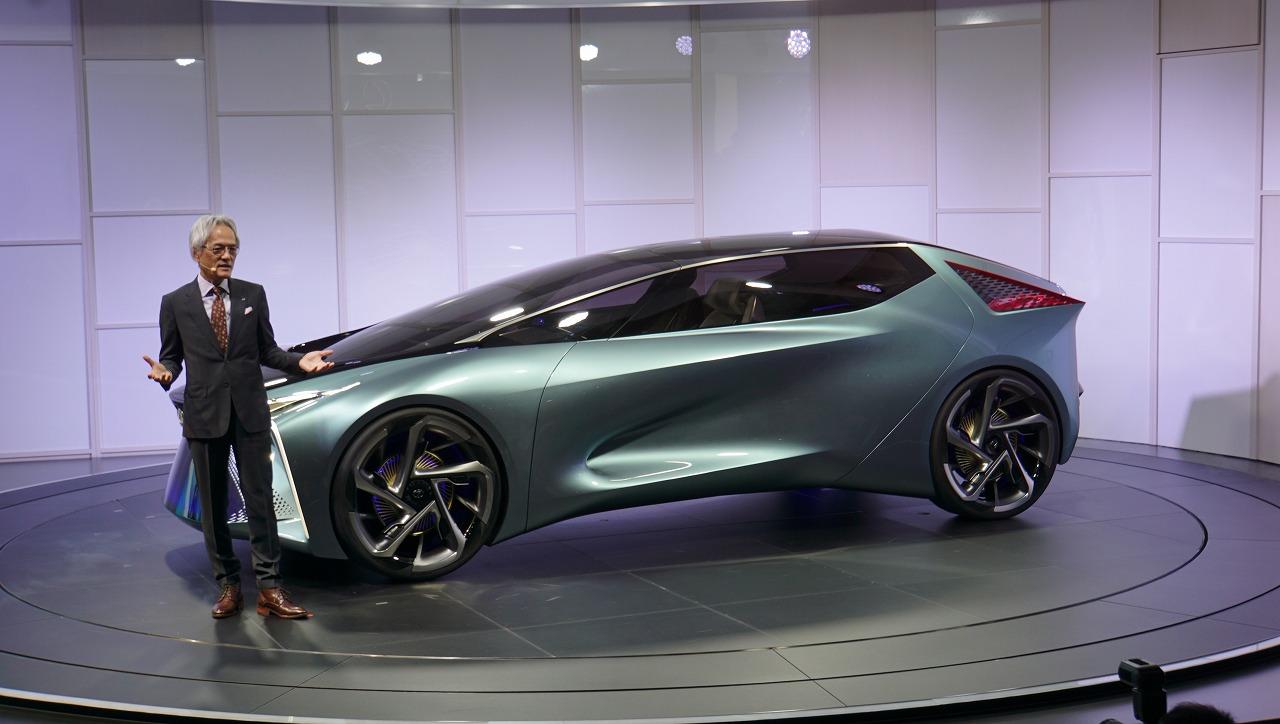 「鉱石のような塊感! レクサスの電動化ビジョンを象徴するコンセプトモデル「LF-30 Electrified」を公開【東京モーターショー2019】」の3枚目の画像