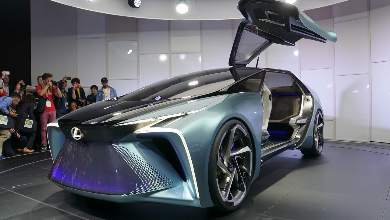 「鉱石のような塊感! レクサスの電動化ビジョンを象徴するコンセプトモデル「LF-30 Electrified」を公開【東京モーターショー2019】」の6枚目の画像