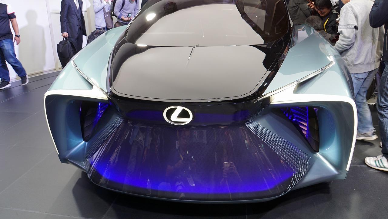 「鉱石のような塊感! レクサスの電動化ビジョンを象徴するコンセプトモデル「LF-30 Electrified」を公開【東京モーターショー2019】」の12枚目の画像