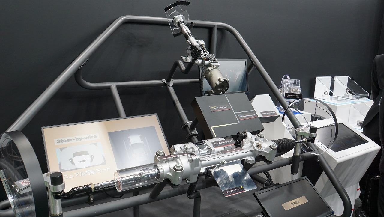 「世界シェア1位のパワステメーカーは日本のJTEKT(ジェイテクト)。ベテランバス運転手並みの自動運転を実証【東京モーターショー2019】」の8枚目の画像
