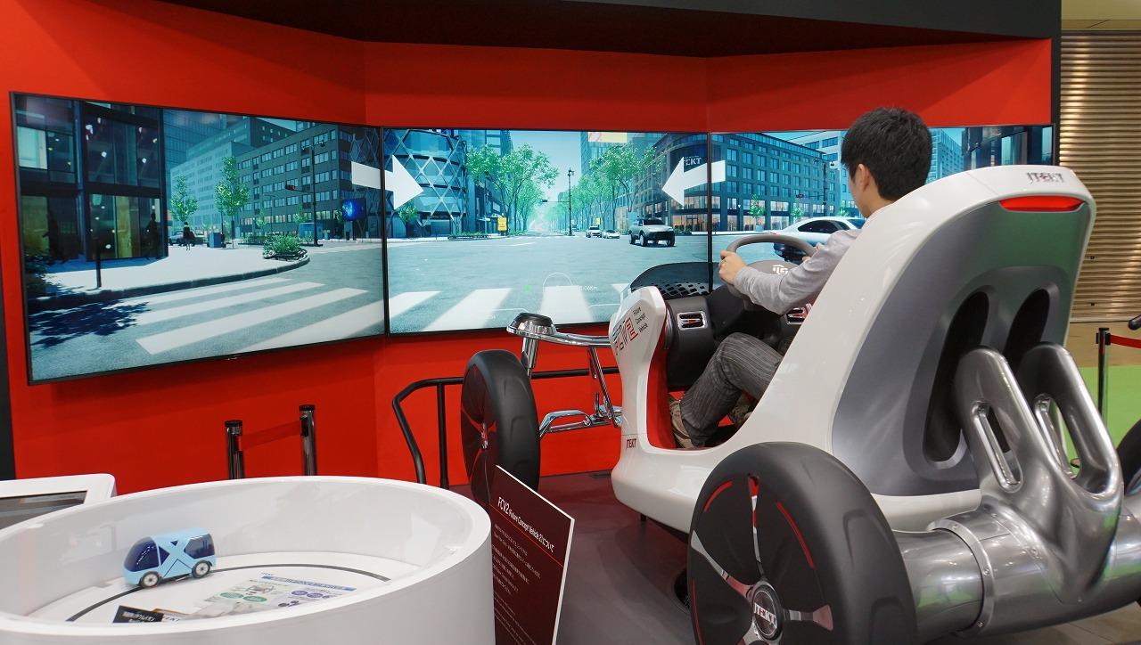 「世界シェア1位のパワステメーカーは日本のJTEKT(ジェイテクト)。ベテランバス運転手並みの自動運転を実証【東京モーターショー2019】」の2枚目の画像