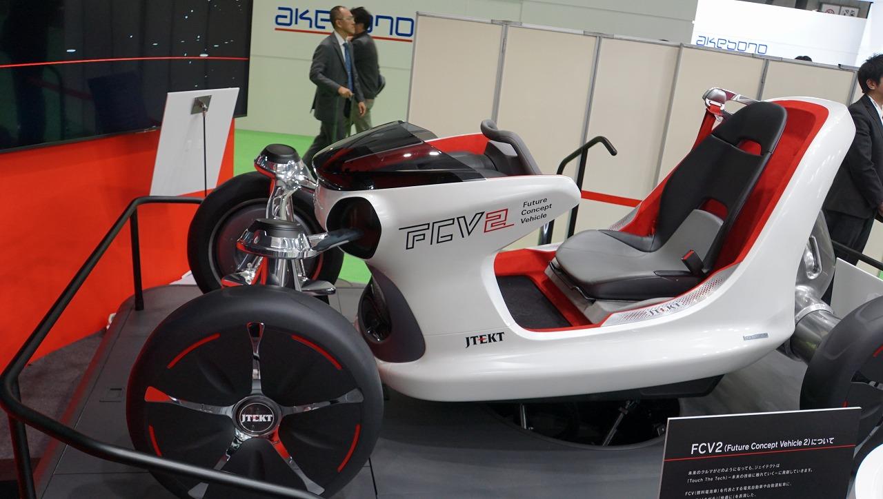 「世界シェア1位のパワステメーカーは日本のJTEKT(ジェイテクト)。ベテランバス運転手並みの自動運転を実証【東京モーターショー2019】」の10枚目の画像