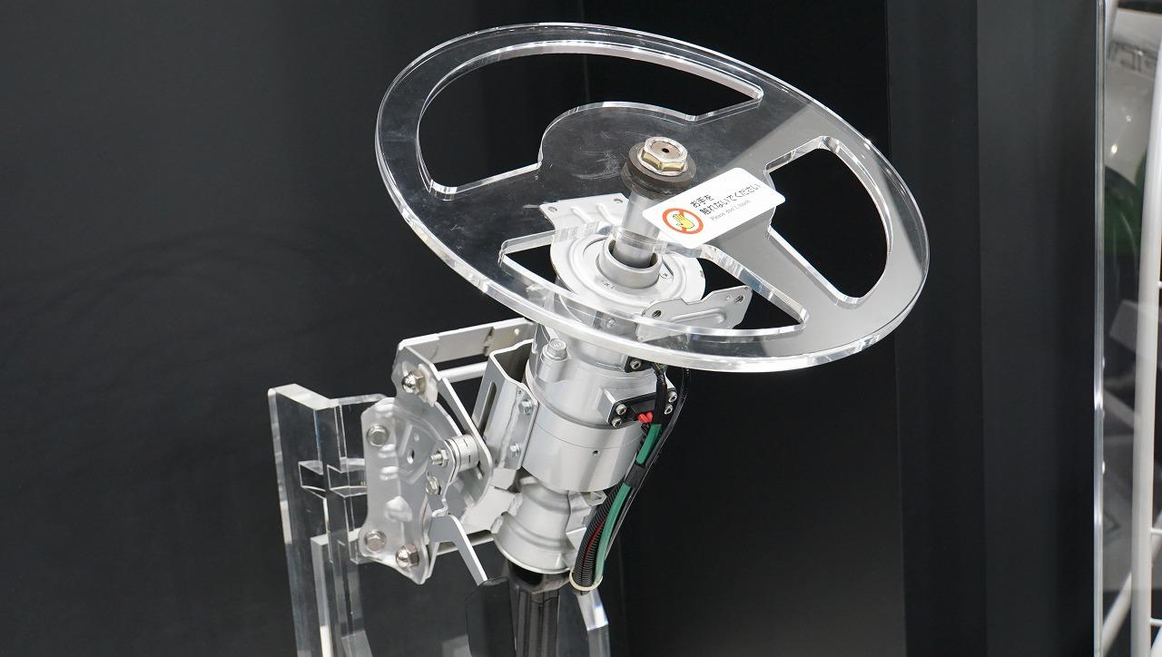「世界シェア1位のパワステメーカーは日本のJTEKT(ジェイテクト)。ベテランバス運転手並みの自動運転を実証【東京モーターショー2019】」の6枚目の画像