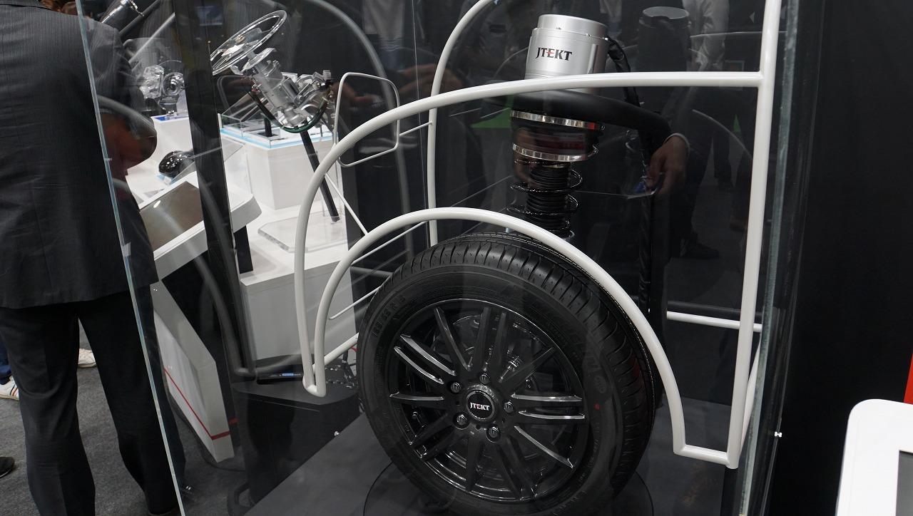 「世界シェア1位のパワステメーカーは日本のJTEKT(ジェイテクト)。ベテランバス運転手並みの自動運転を実証【東京モーターショー2019】」の11枚目の画像