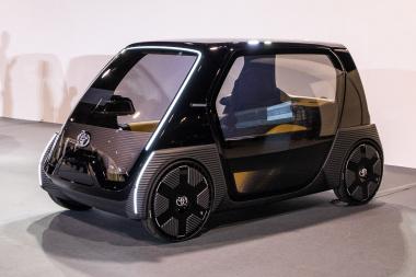 トヨタ 超小型 EV ビジネス向けコンセプトモデル