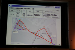 羽田地区の実験エリア