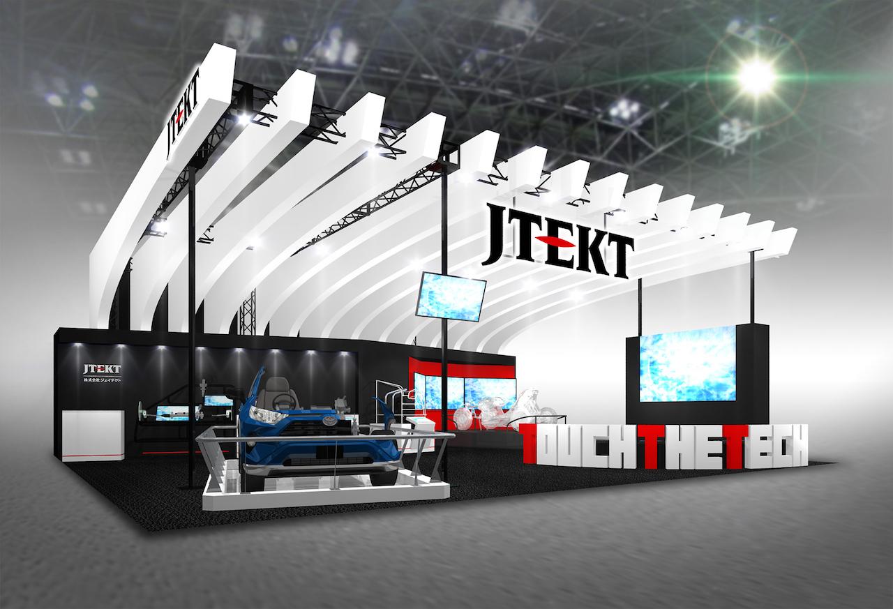 「ジェイテクトは「ステア・バイ・ワイヤ」や「イン・ホイール・モーター」の協調技術や自動運転化を見越したハンドル格納機能などを展示【東京モーターショー2019】」の3枚目の画像