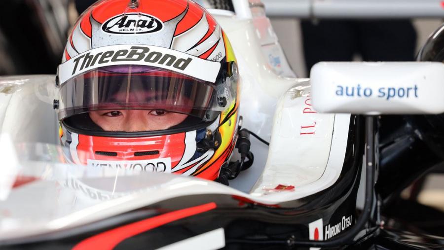 全日本F3選手権に参戦する大津弘樹選手