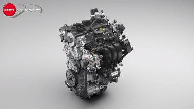 1.5L 3気筒エンジン