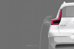 ボルボ XC40 EV外観_008