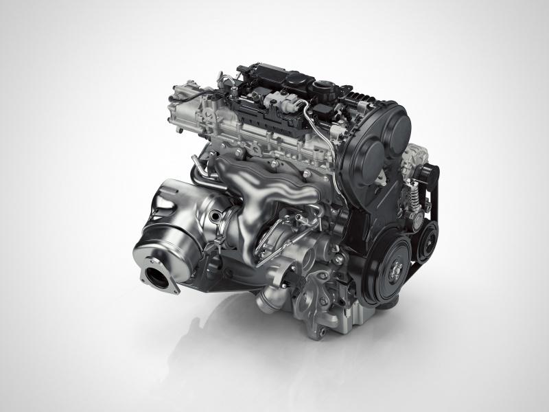 ボルボのガソリンエンジン