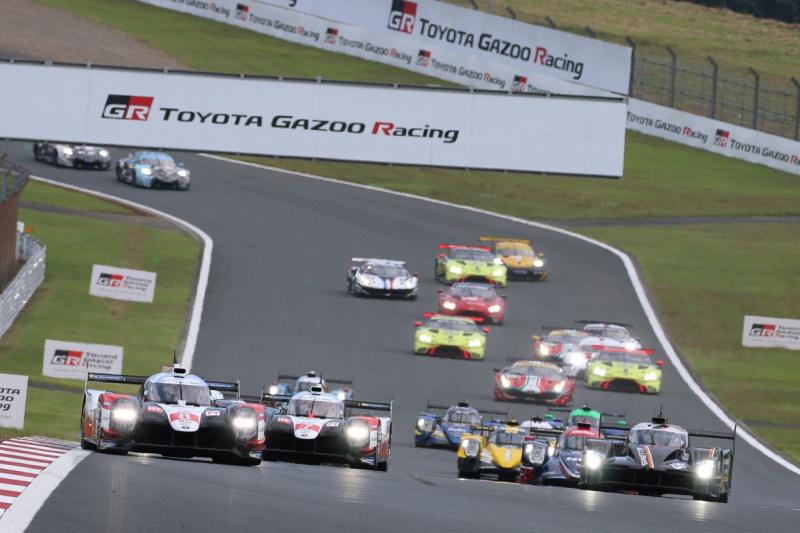 WEC富士6時間レースのスタート