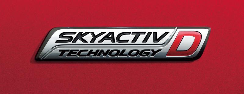 SKYACTIV-Dバッジ