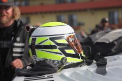 ジェンソンバトン選手のヘルメット
