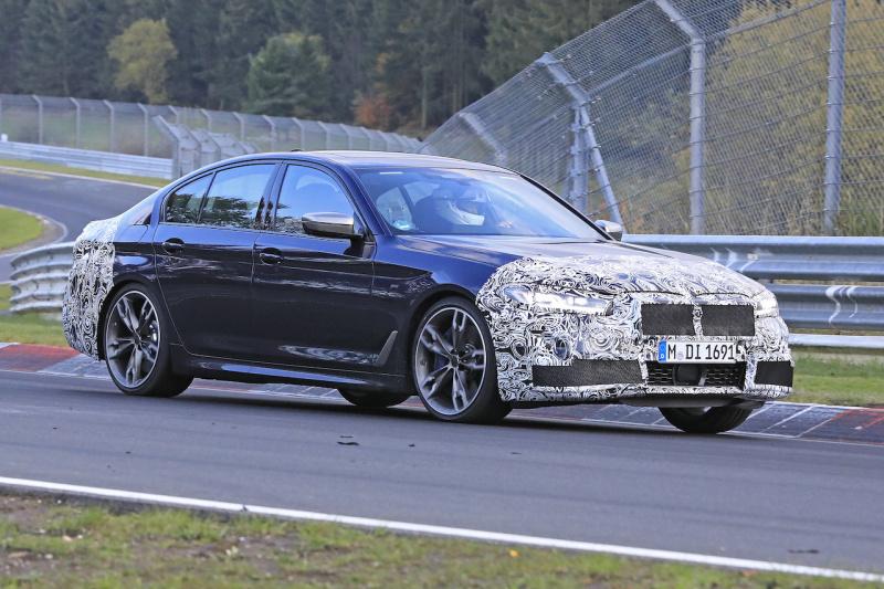 BMW 5シリーズ セダン外観_002