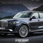 BMWのフラッグシップSUV「X8」は2020年に発売!? - BMW X8 xDrive40i