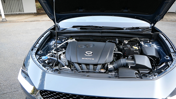 CX-30のエンジン