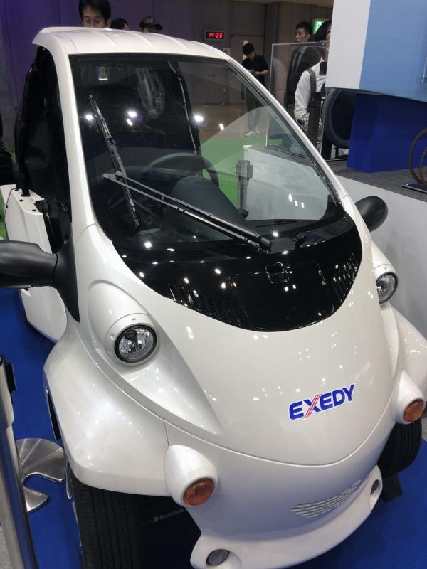 エクセディの新機構を搭載した小型EV