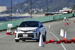 C-HR GRスポーツ クローズド試乗