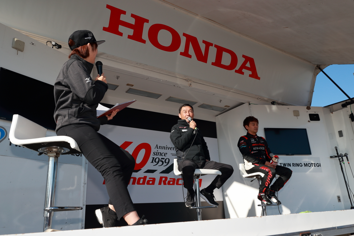 「Moduloドライバーが走り、監督も楽しんだホンダレーシング・サンクスデー【HRTD】」の12枚目の画像