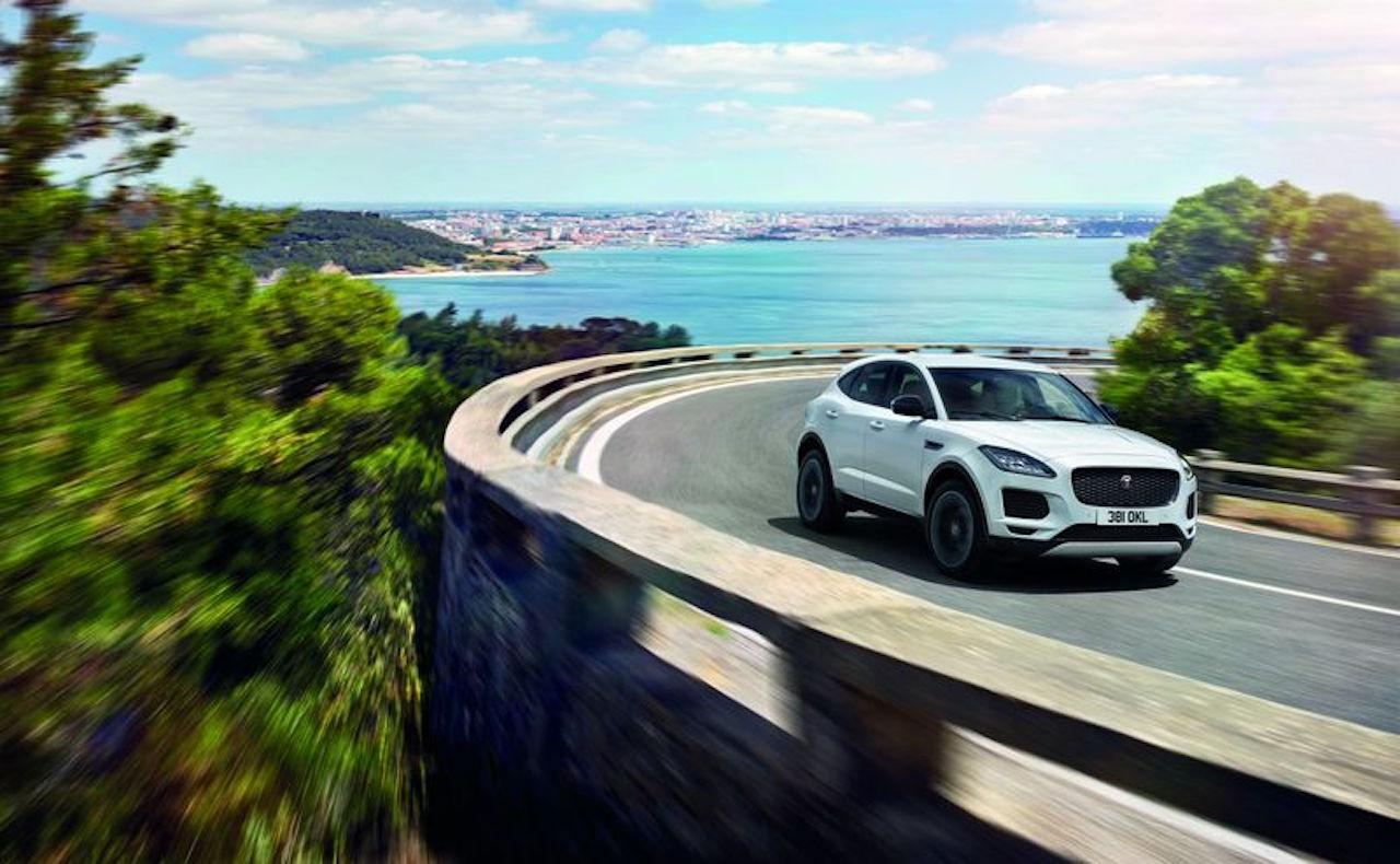 「ジャガーのSUV「E-PACE」「F-PACE」に専用19インチアルミホイールなど豪華装備を網羅した特別仕様車を用意【新車】」の5枚目の画像