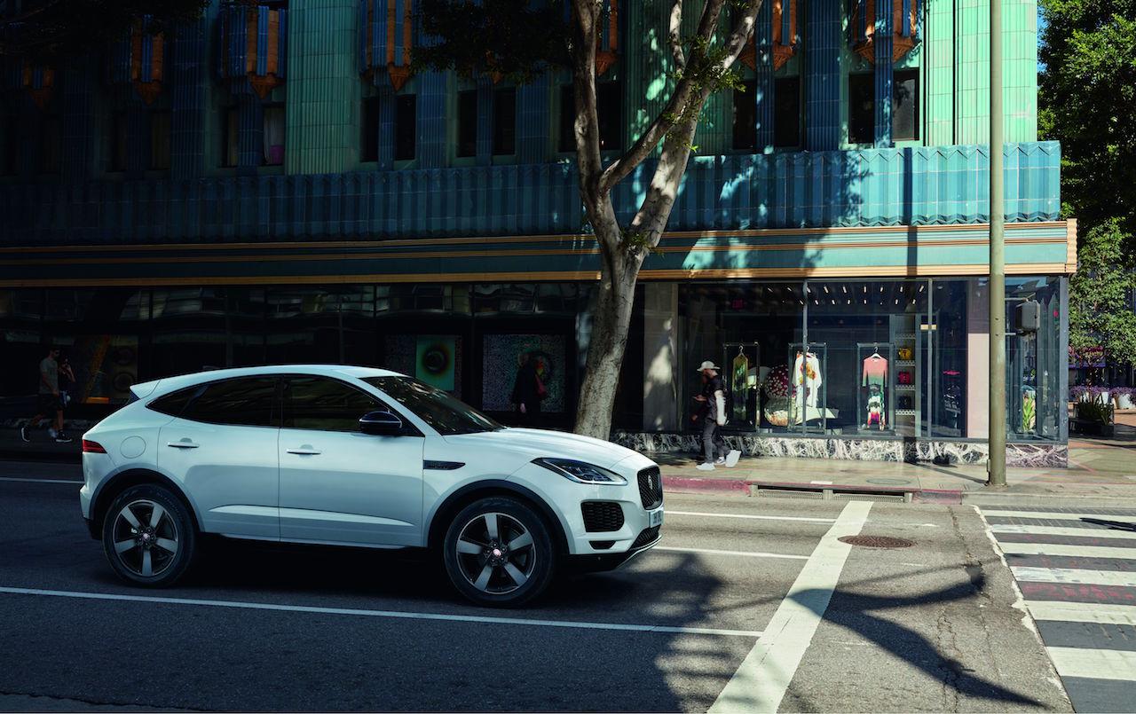「ジャガーのSUV「E-PACE」「F-PACE」に専用19インチアルミホイールなど豪華装備を網羅した特別仕様車を用意【新車】」の8枚目の画像