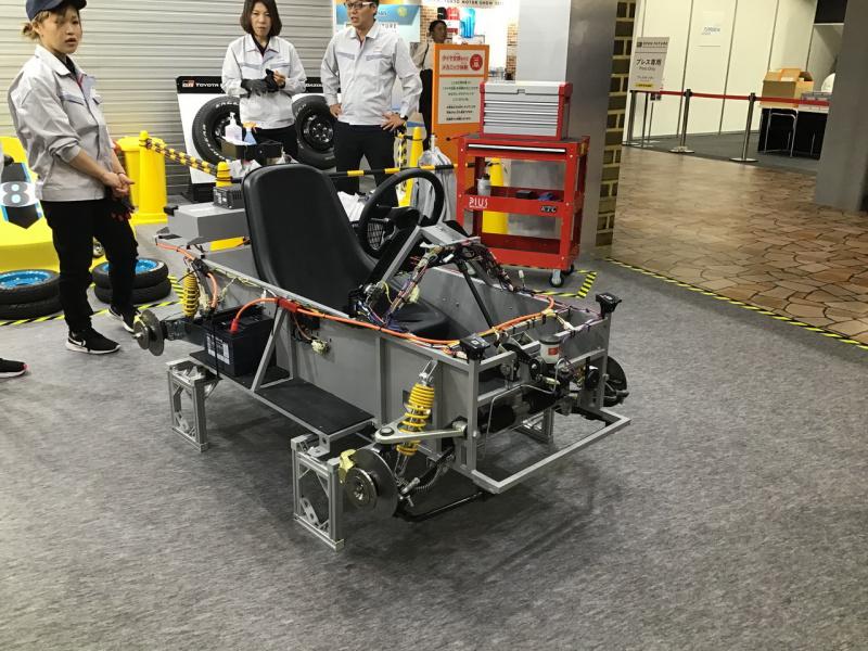 東京モーターショー2019 アウト・オブ・キッザニア Toyota