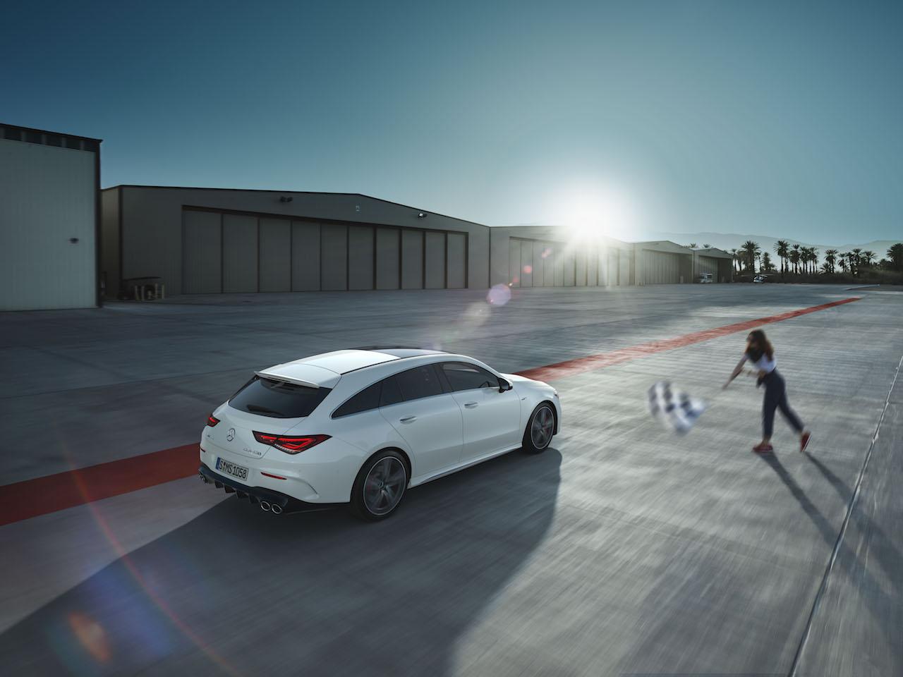「2.0Lエンジンで世界最高の421PSを誇る、メルセデス・ベンツAMG CLA 45 S 4MATIC+/CLA 45 S 4MATIC+シューティングブレークが発売【新車】」の4枚目の画像