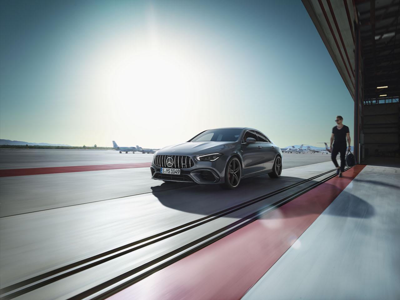 「2.0Lエンジンで世界最高の421PSを誇る、メルセデス・ベンツAMG CLA 45 S 4MATIC+/CLA 45 S 4MATIC+シューティングブレークが発売【新車】」の5枚目の画像