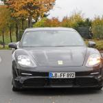 EVなのにエキゾーストパイプ!? ポルシェ初のEVワゴン「タイカン スポーツツーリスモ」をキャッチ - Porsche Taycan Sport Turismo 1