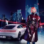 新型ポルシェ「タイカン」のプロモーションにバーチャルモデルの「imma」が登場 - Porsche_Taycan_20191118_1