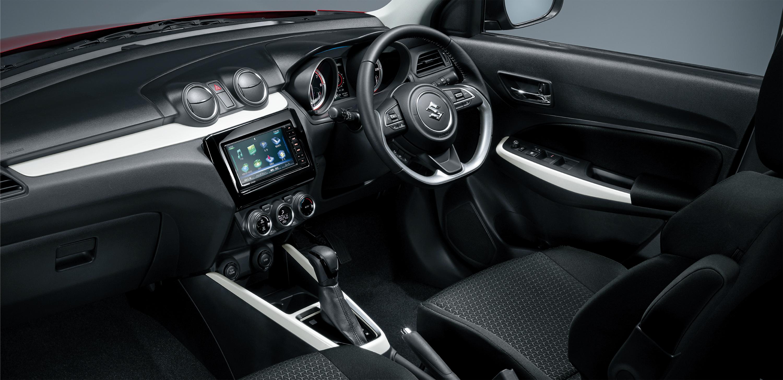 「スズキ・スイフトにマイルドハイブリッドの特別仕様車「HYBRID MGリミテッド」が登場【新車】」の5枚目の画像