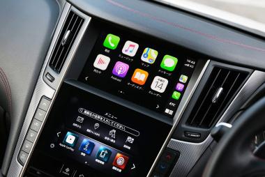 Apple CarPlay・Android Auto連携機能搭載NissanConnectナビゲーションシステム