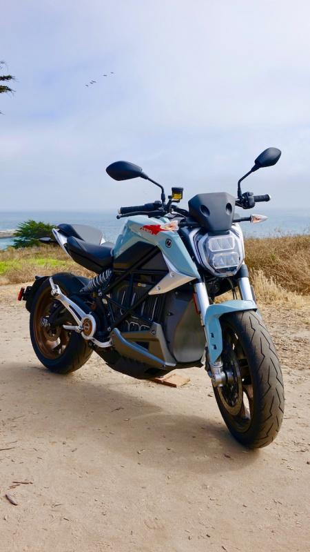 SR/F電動バイク