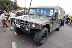 自衛隊の高機動車