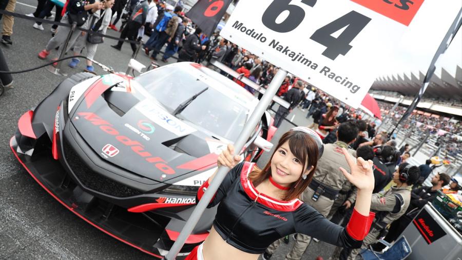 Modulo Epson NSX-GTのスターティンググリッドはフロントロー
